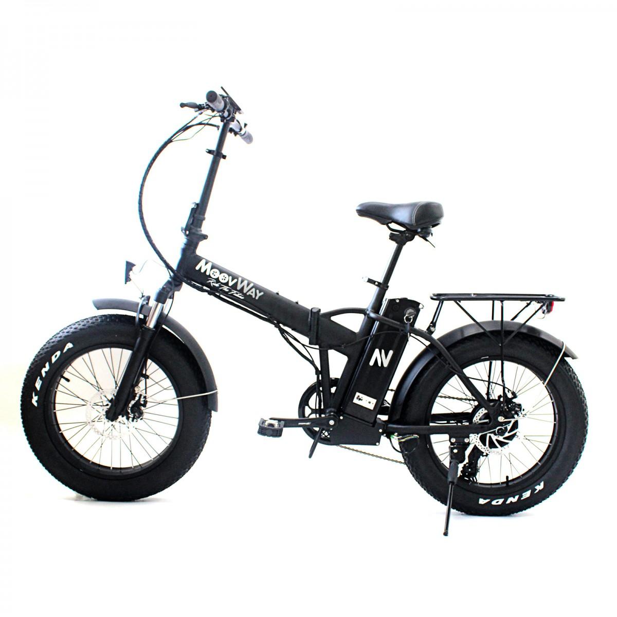 Vélo FATBIKE pliable à assistance électrique de MoovWay